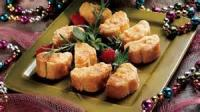 Appetizers - Cheesy Crab Puffs