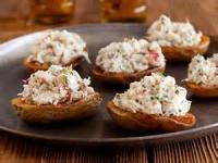 Appetizers - Seafood -  Crab Stuffed Potato Skins