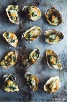 Appetizers - Oysters Rockerfeller