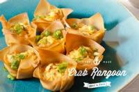 Appetizers - Seafood Crab Rangoon