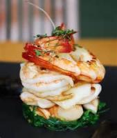 Appetizers - Shrimp Canapes