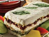 Appetizers - Spread -  Layered Cheese Spread