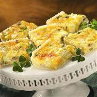 Appetizers - Vegetable Artichoke Squares