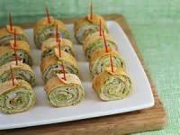 Appetizers - Wraps -  Party Pinwheels