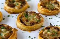 Appetizers - Vegetable Onion Tartlets