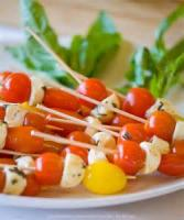 Appetizers - Vegetable Herbed Tomato