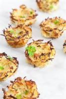 Appetizers - Vegetable Potato Nests