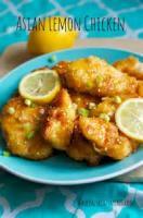Asian - Chicken -  Chicken With Lemon Sauce