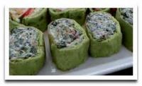 Appetizers - Wraps Spinach Roll-ups