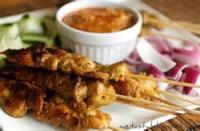 Asian - Chicken -  Chicken Satay With Peanut Sauce