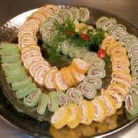 Appetizers - Wraps Tortilla Pinwheels By Connie