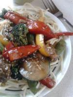 Asian - Beef -  Sesame Beef And Asian Vegetable Stir-fry