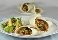 Asian - Chicken -  Asian Chicken Salad Wraps