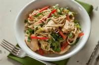 Asian - Chicken -  Chicken And Noodles With Peanut Sauce