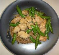 Asian - Chicken -  Chicken And Snow Peas