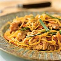 Asian - Chicken -  Chicken-peanut Pasta