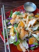 Asian - Chicken Salad With Sesame Mayonnaise
