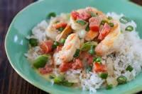 Asian - Seafood -  Curried Shrimp In Peanut Sauce