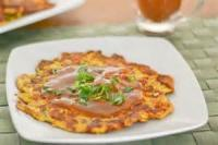 Asian - Seafood -  Egg Foo Yung With Shrimp