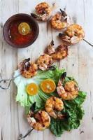 Asian - Seafood Vietnamese Grilled Prawns