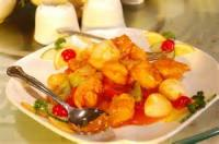 Asian - Seafood -  Sweet And Sour Shrimp