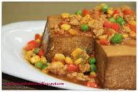 Asian - Tofu -  Steamed Tofu With Vegetables