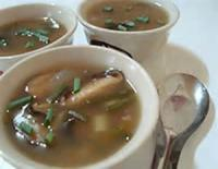 Asian - Soup -  Vegetarian Hot And Sour Soup