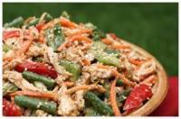 Asian - Vegetable Oriental Green Pea Salad