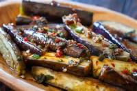 Asian - Vegetable -  Chinese Eggplant In Garlic Sauce