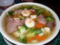 Asian - Soup Deluxe Won Ton