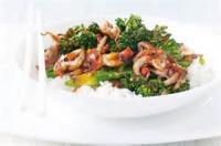 Australian - Main Dish -  Bbqed Baby Octopus