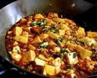 Asian - Tofu -  Low-fat Spicy Hot Tofu And Rice
