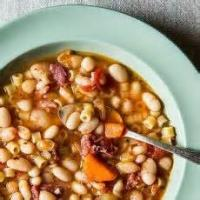 Beansandgrains - White Beans -  Bean And Bacon Soup
