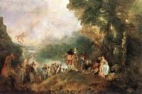 For A Picture Of Watteau