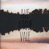 'atque In Perpetuum Frater Ave Atque Vale'