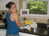 Washing Mamma's Dishes