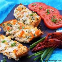 Bread - Appetizer -  Crawfish Bread