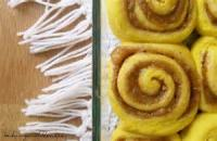 Bread - Sweet Rolls -  Pumpkin-cinnamon Streusel Buns