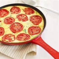 Breakfastandbrunches - Brunch Pie  Tomato Basil And Cheese