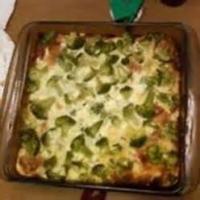 Breakfastandbrunches - Casserole -  Broccoli And Ham Casserole