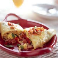 Breakfastandbrunches - Crepes  Ham