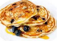 Breakfastandbrunches - Pancakes -  Oatmeal-buttermilk Pancakes