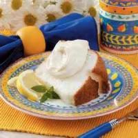 Cakesandfrostings - Angel Food -  Lemon Angel Food Cake