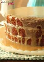 Cakesandfrostings - Cake Flourless Chocolate Cake With Chocolate Glaze