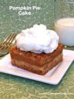 Cakesandfrostings - Cake Pumpkin Pie Cake