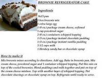 Cakesandfrostings - Cake Refrigerator Cake