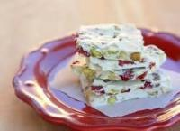 Candy - Bark -  Red And Green Pistachio Bark