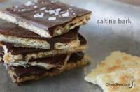 Candy - Toffee Bark  (made From Saltines)
