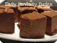 Candy - Fudge -  Easy Fantasy Fudge