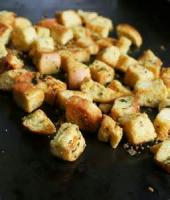 Bread - Croutons Parmesan Croutons